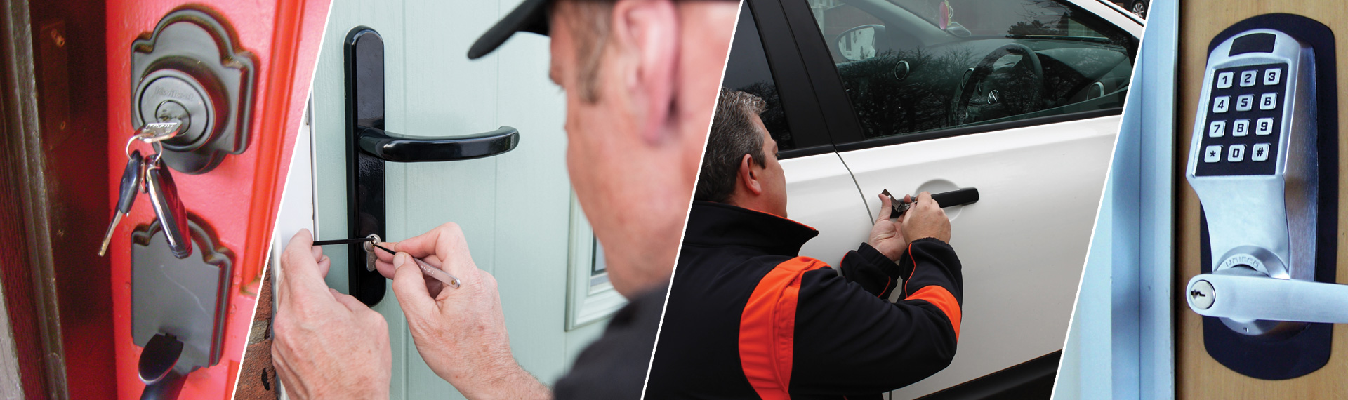 We are proud to offer 24 hour services all over the area. Our services are fully bonded, licensed & insured. We are experts at dealing with all makes of modern locks.
