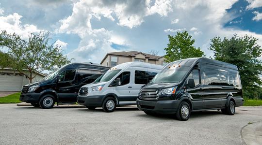 Luxury Van Riverside CA