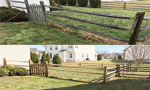 Fence Power Washing Lovettsville VA