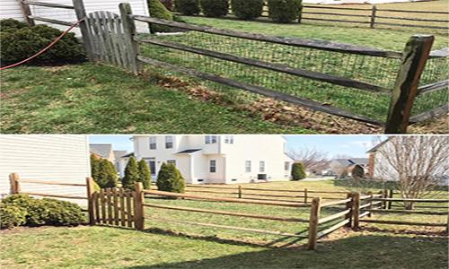 Fence Power Washing Leesburg VA
