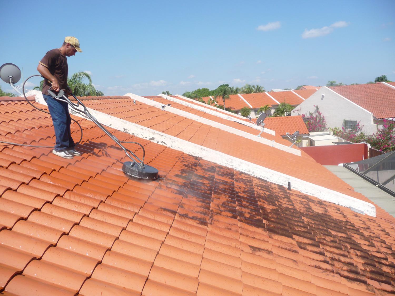 Roof Washing Leesburg VA
