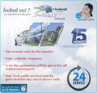 Lockouts Sunnyvale CA